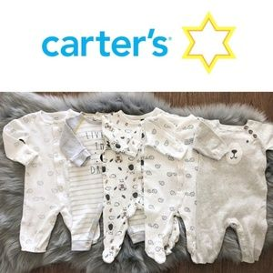Carter's baby infant bundle bodysuits sleepwear